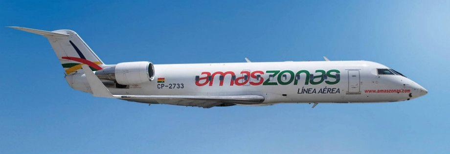 Amaszonas reserva de vuelos